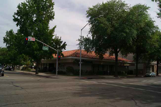 Southeast corner of Pine and Yuba today